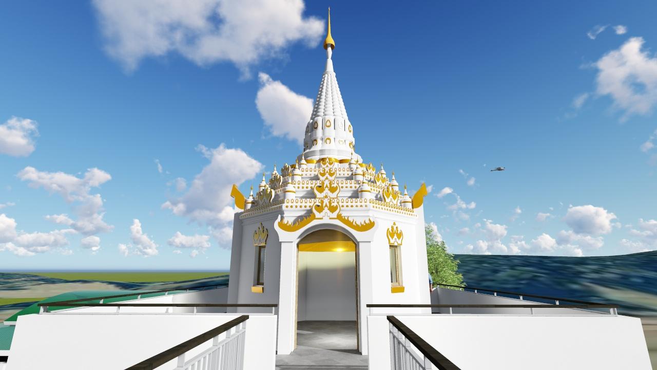 Dhammaduta Buddhist Temple - Pagoda Room